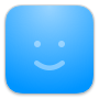 GoSquared CRM face icon in blue