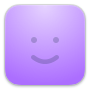 GoSquared CRM face icon in purple