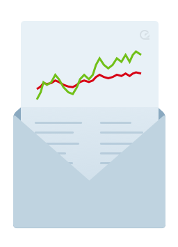 Daily Reports - a summary of your website performance in your email inbox every day