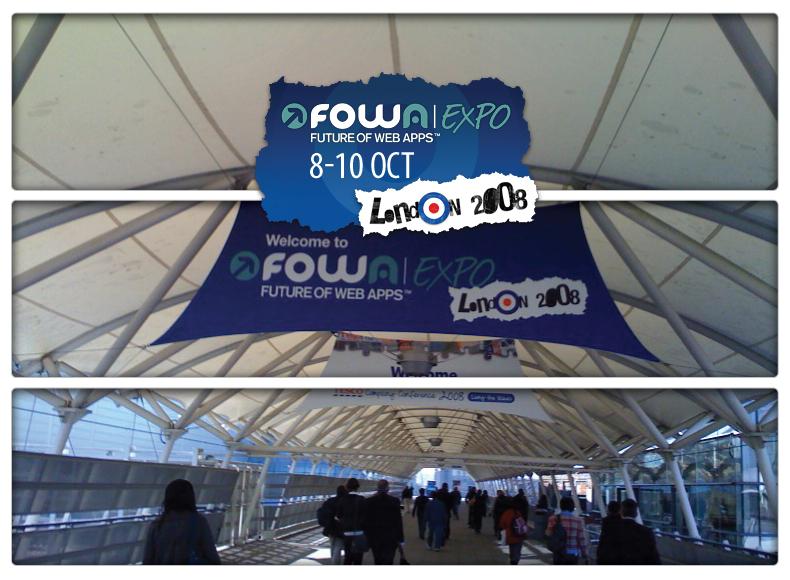 Welcome to FOWA London 08