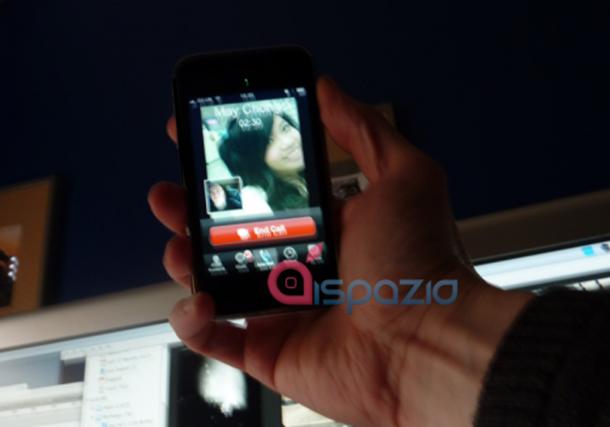 video calling spy shot on iPhone