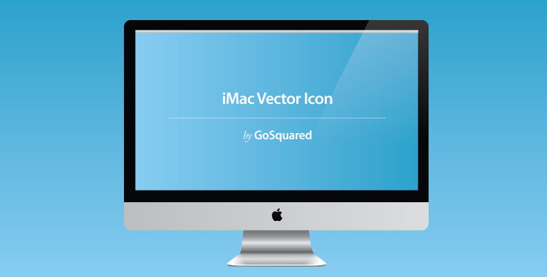 iMac Vector Icon by GoSquared