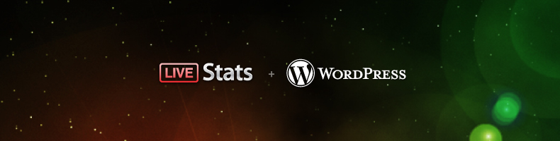 LiveStats plus WordPress