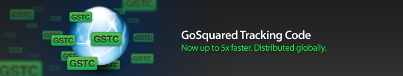 GoSquared Tracking Code 5x Faster