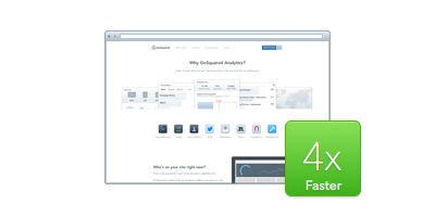 Making the GoSquared site 4x faster – the new static website