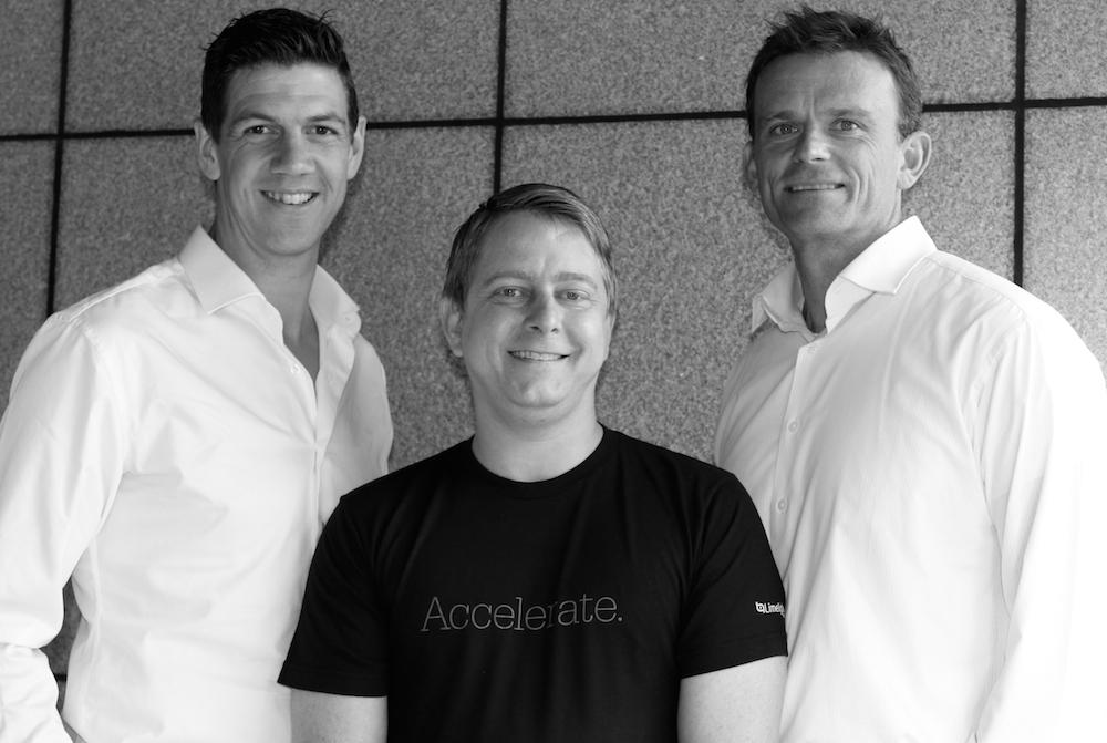 Ben, Daniel and Stewart from Squixa
