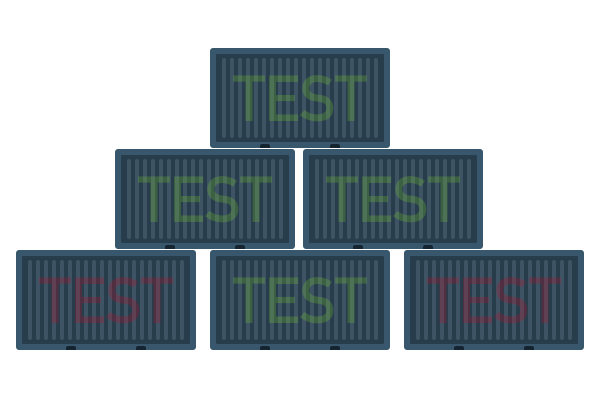 testing with docker containers