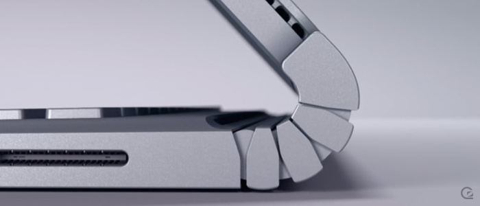 The Microsoft Surface Book photo by Pierre Lecourt