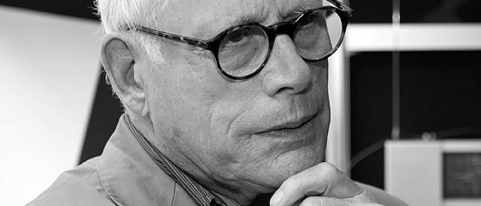 Dieter Rams photo from Vitsoe – good design is as little design as possible