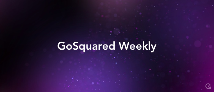 GoSquared Weekly email newsletter