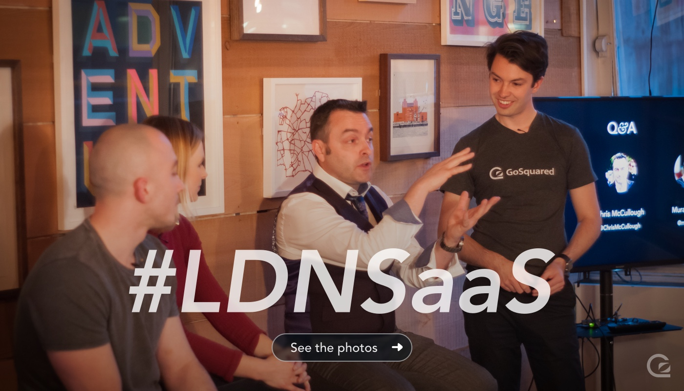 View the photos from London SaaS LDNSaaS