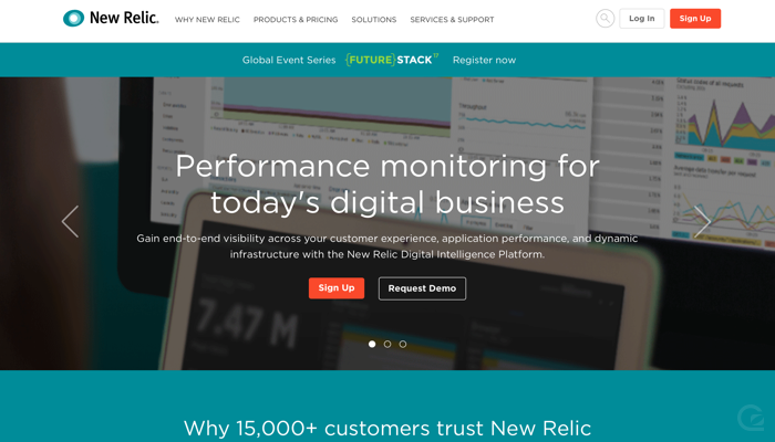 New Relic CTA example