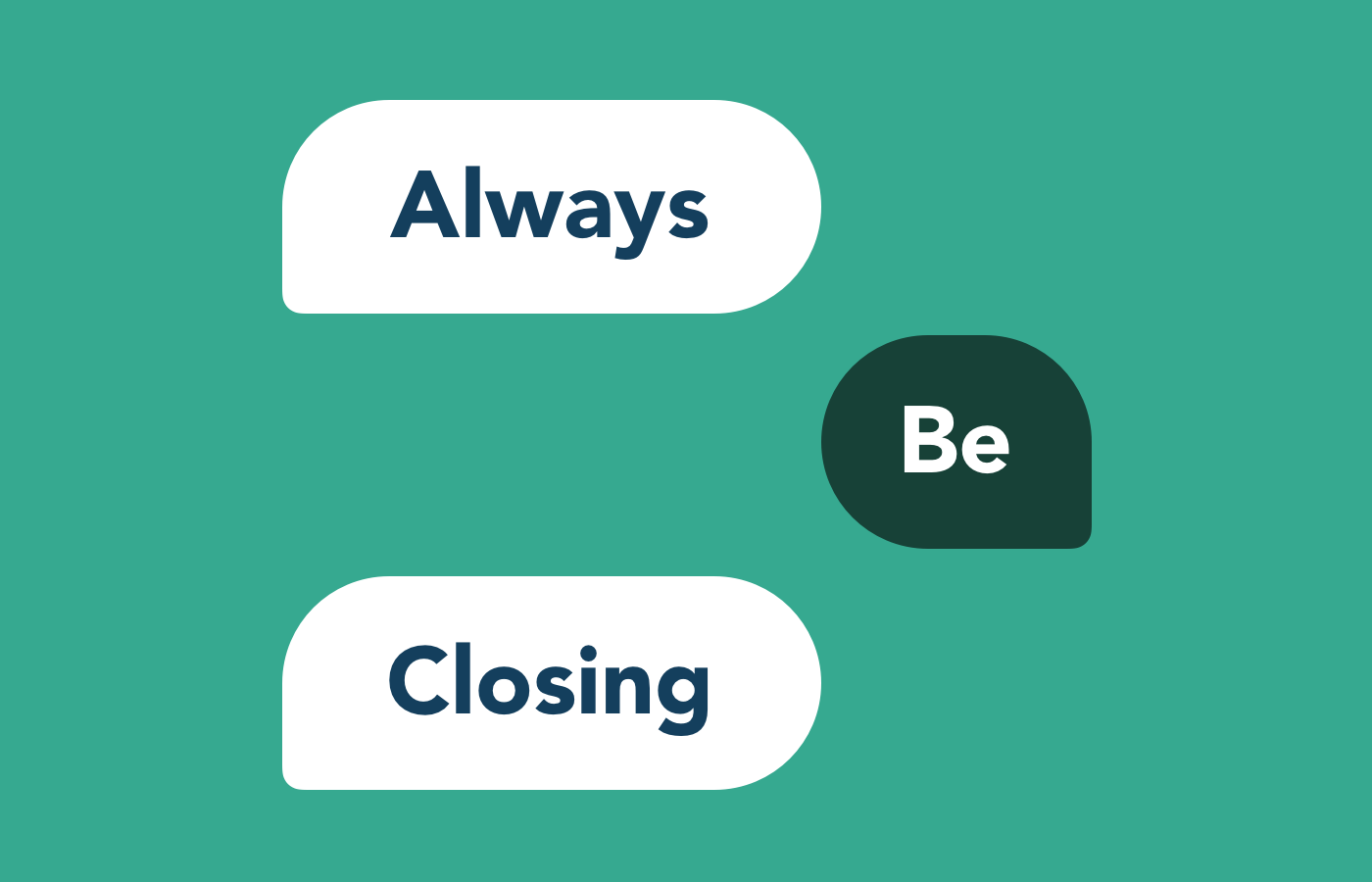 Always be Closing with Live Chat for sales
