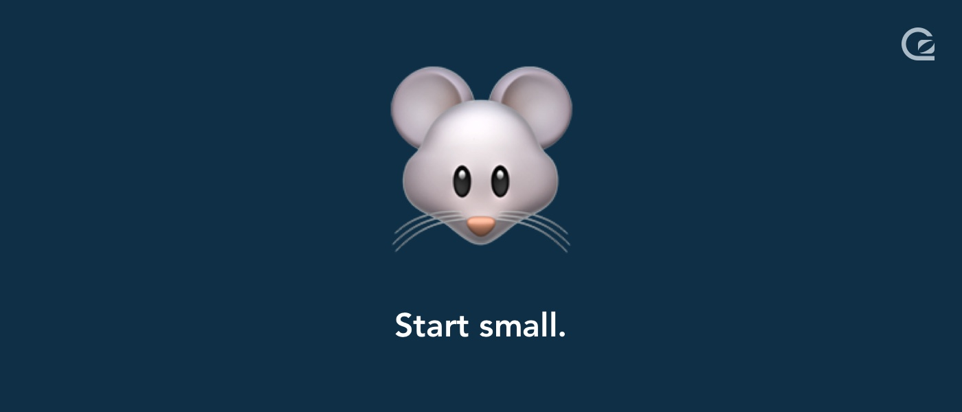 Start small with live chat