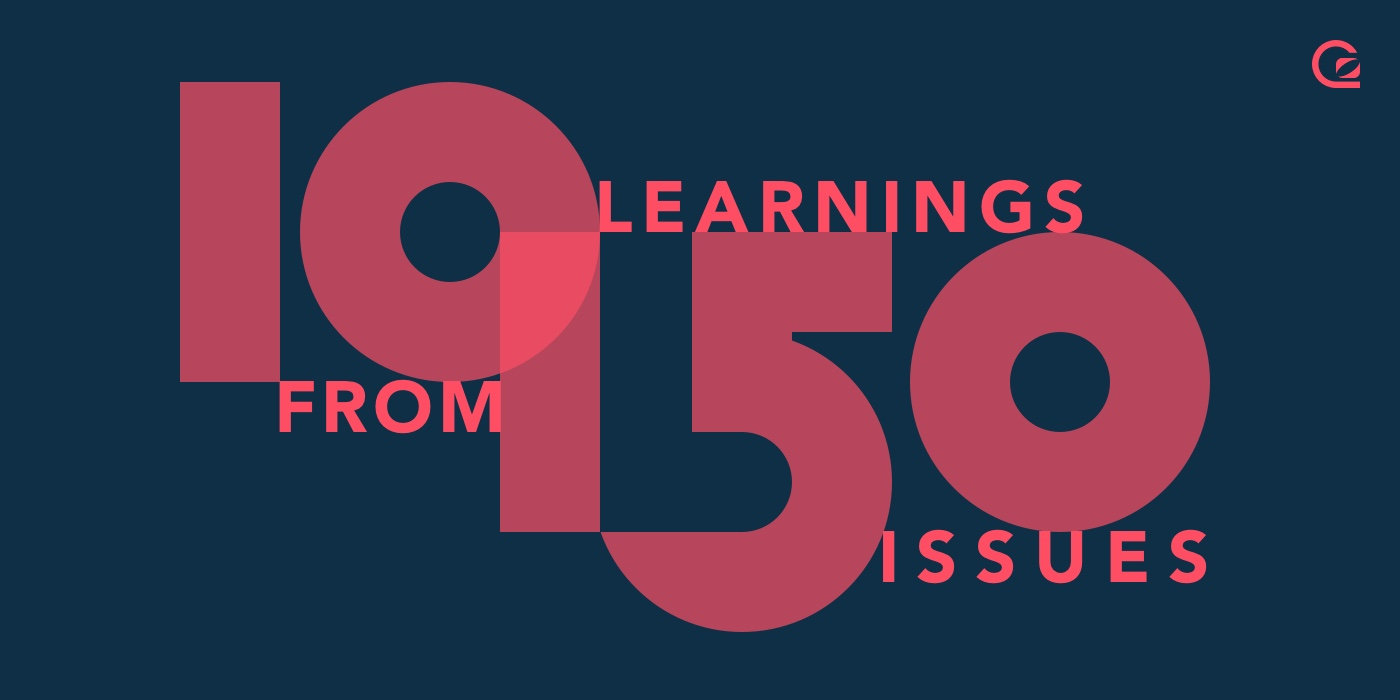 ten learnings from 150 issues of the GoSquared Weekly newsletter