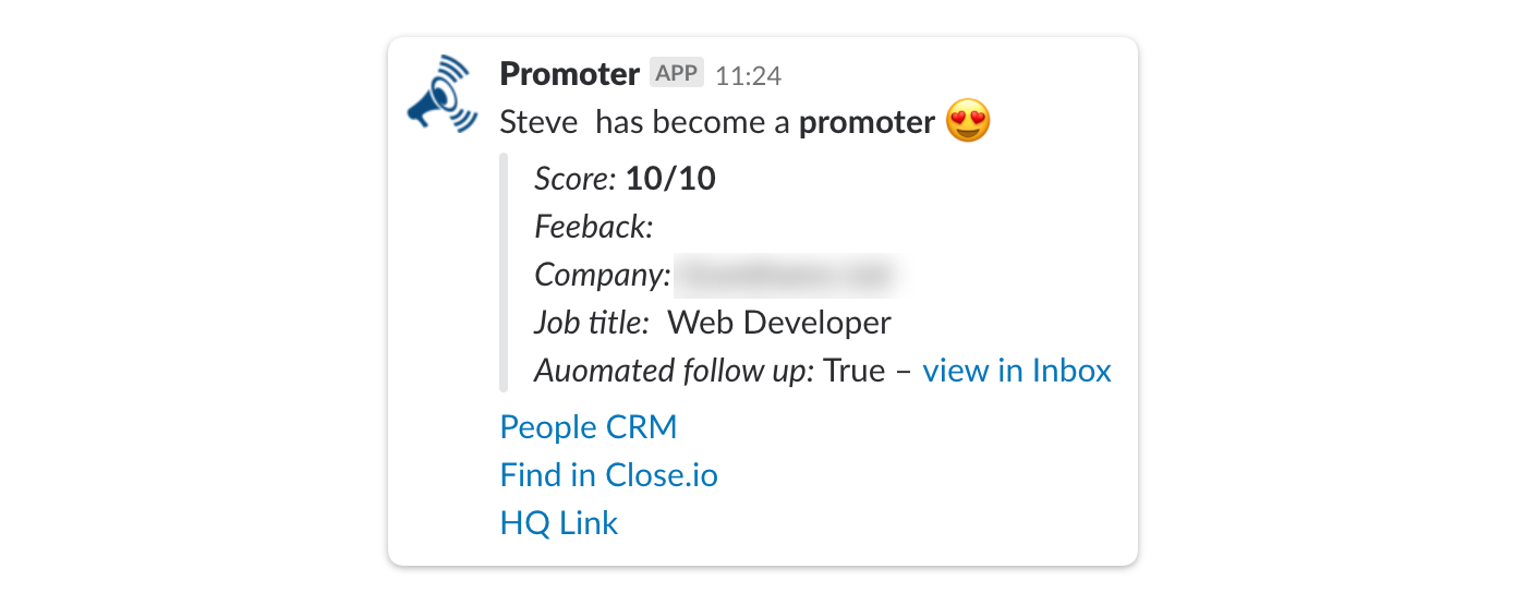 promoter slack integration