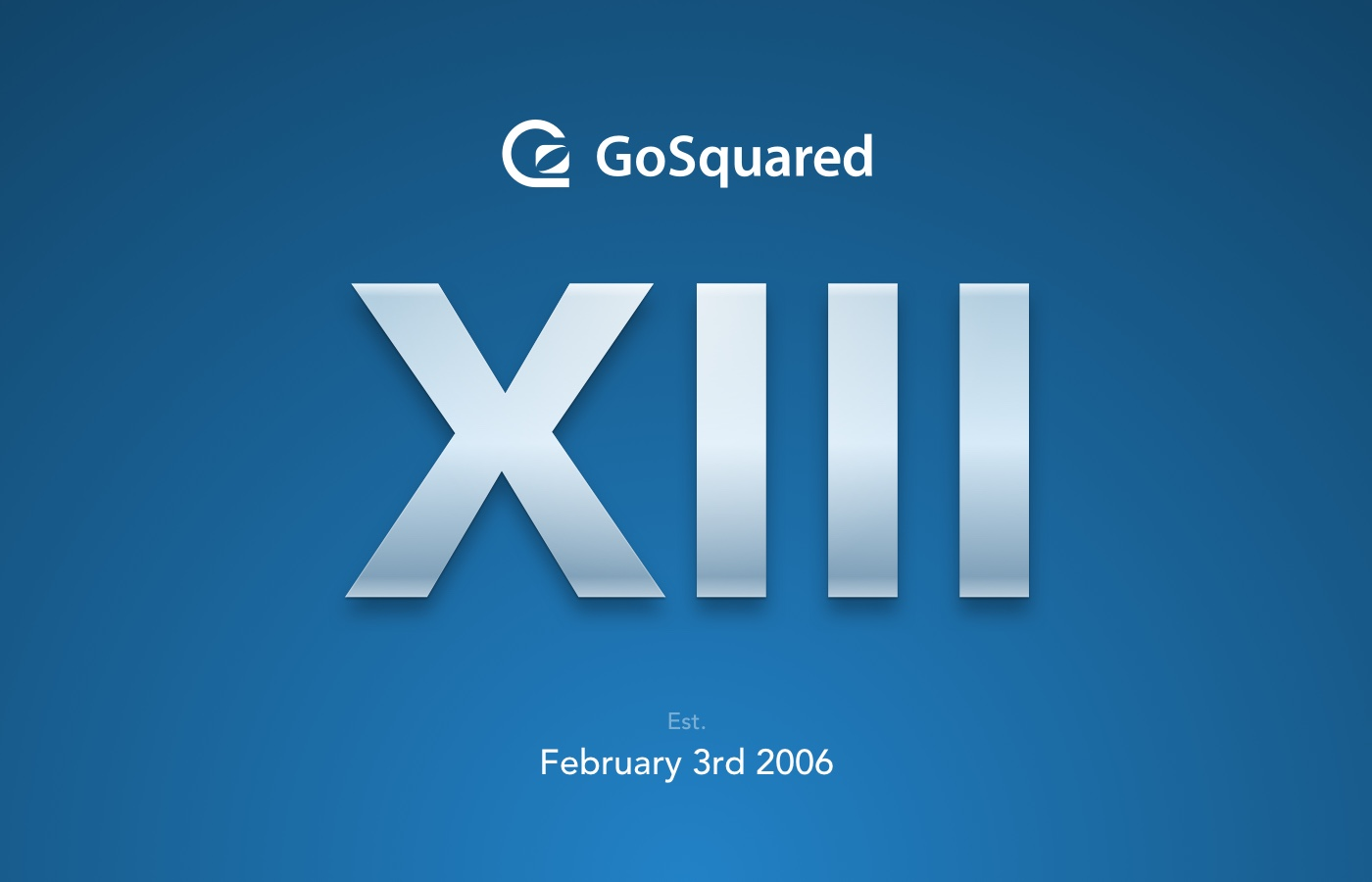 GoSquared turns 13