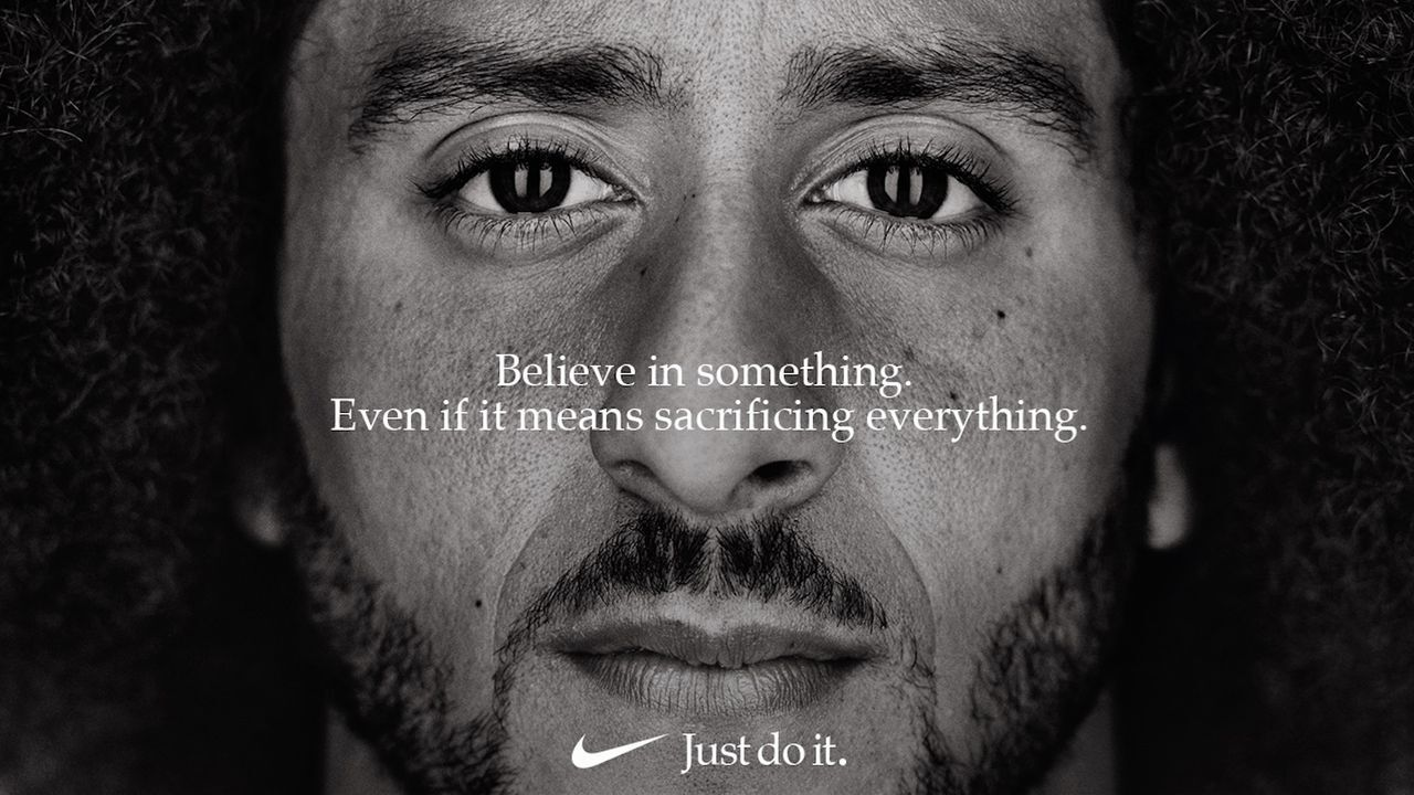 Nike's cultural marketing campaign