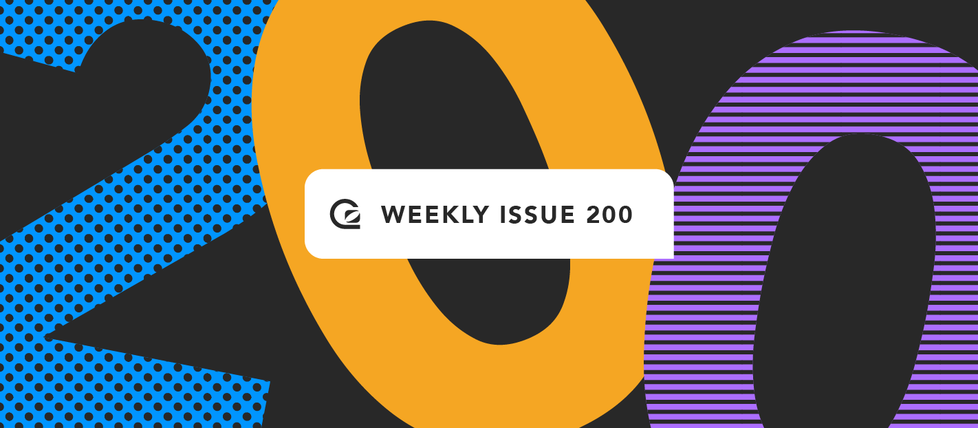 GoSquared Weekly Issue 200