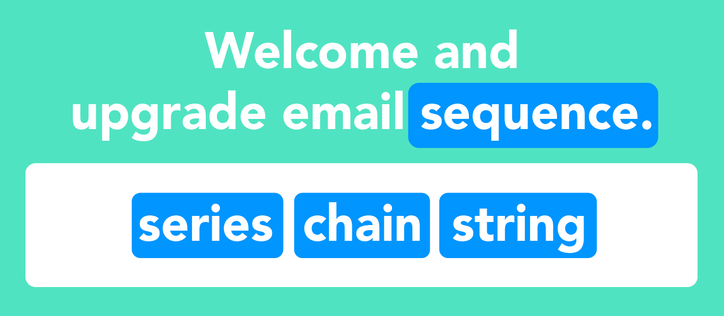 Welcome sequence for email