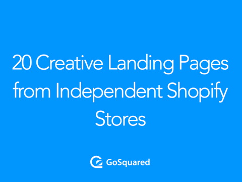 20 Shopify landing pages that will inspire you