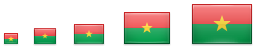 Sample of flag icons
