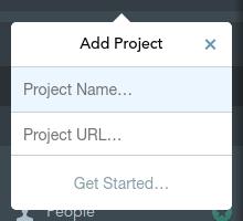 Add a new site in GoSquared