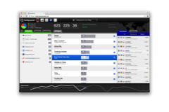 GoSquared real-time analytics screenshot back in 2011