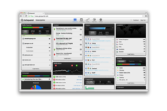 GoSquared real-time analytics screenshot back in 2012