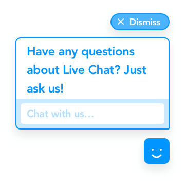 GoSquared Live Chat Prompt