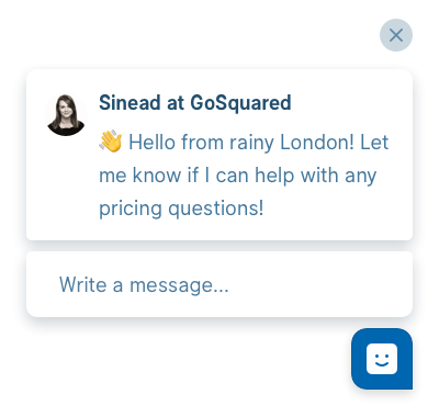 GoSquared Live Chat – proactive live chat with online visitors made simple