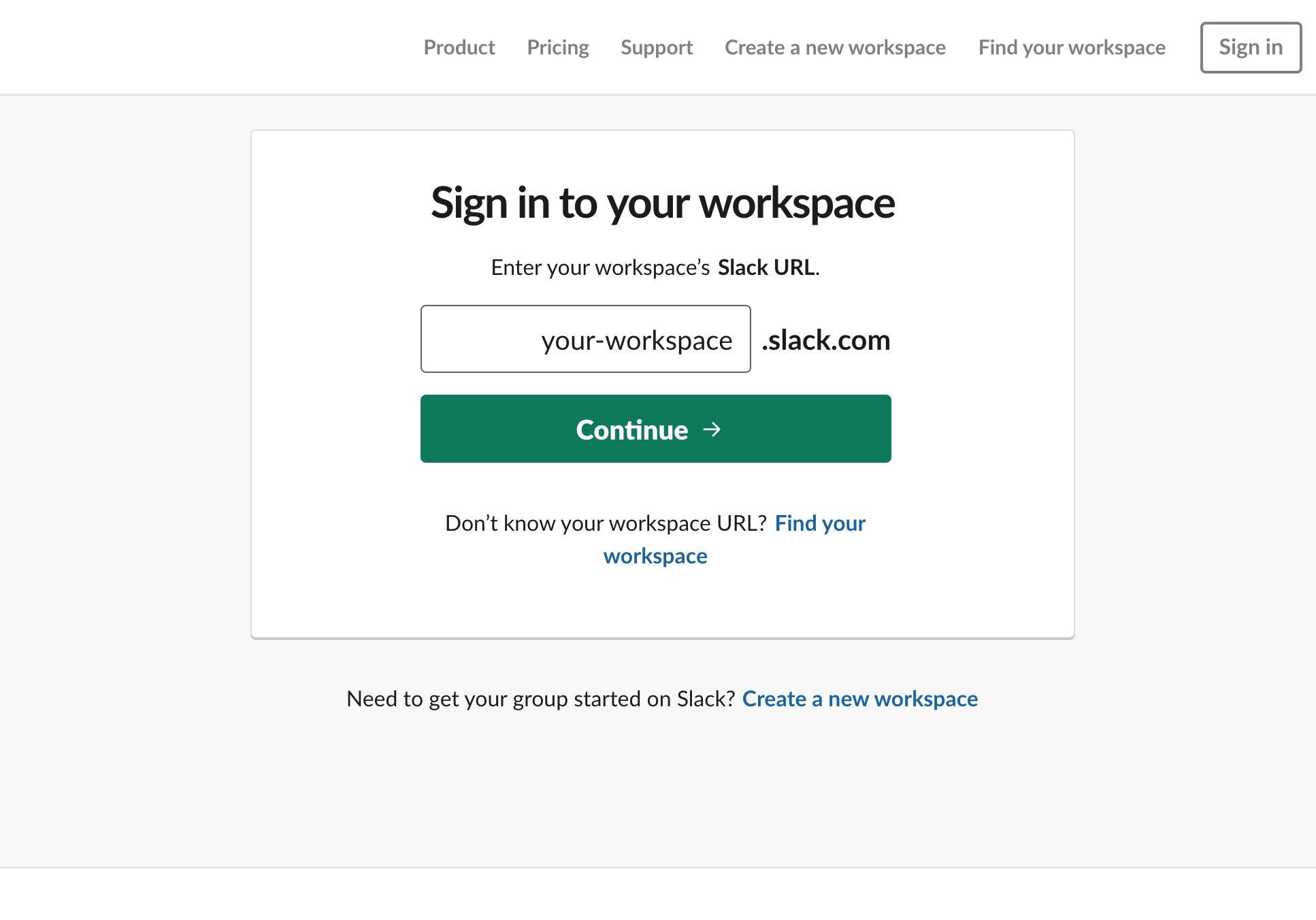 Connect your Slack account